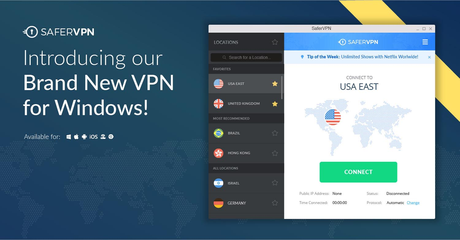 Introducing Our Brand New Windows Vpn Available Now