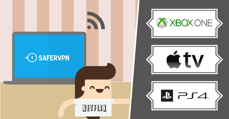 Create a Virtual WiFi and VPN Hotspot with your Laptop. Share to Apple TV, Xbox, PS3, PS4.