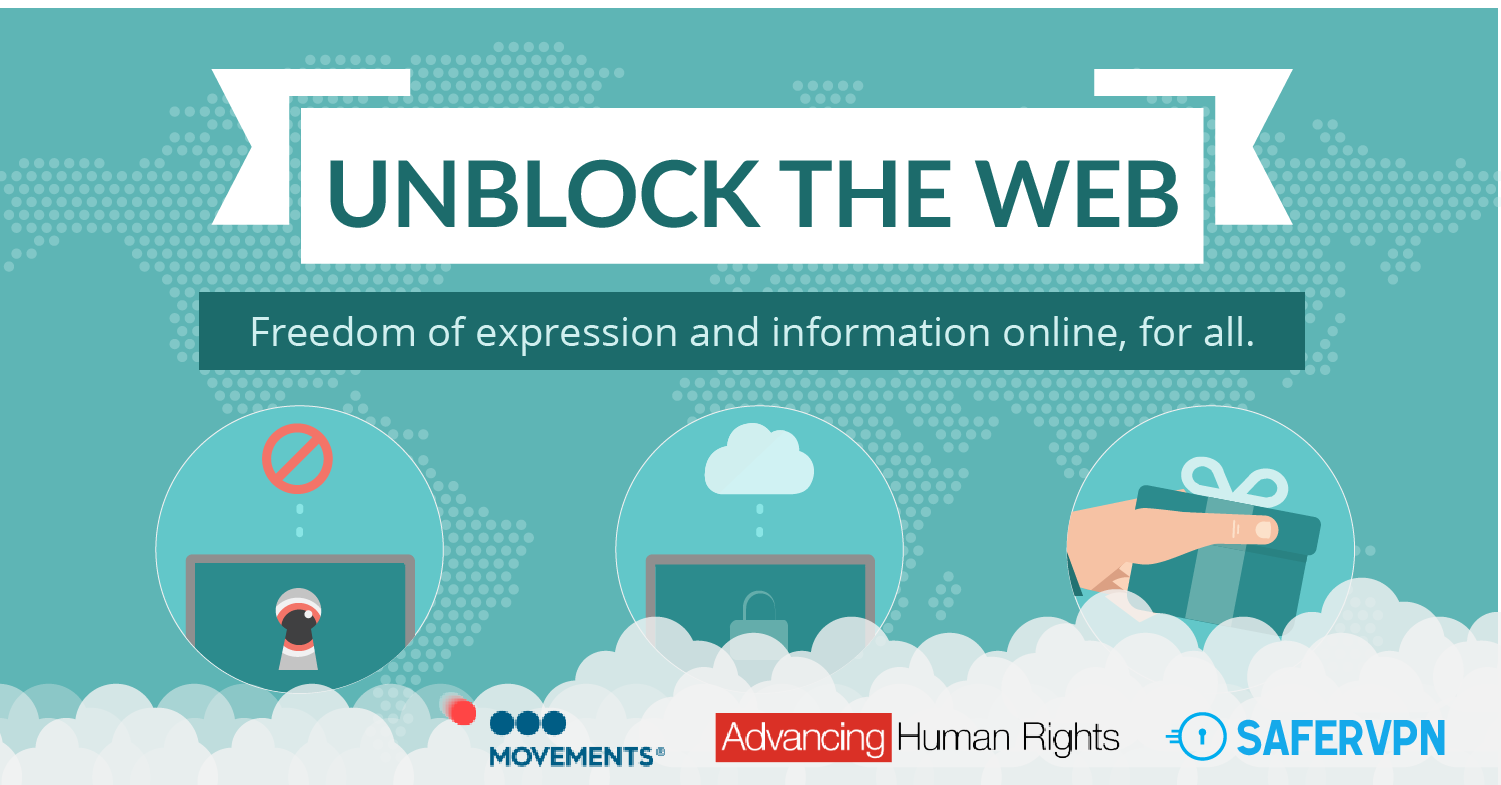 Unblock The Web - Freedom of expression and information online, for all.