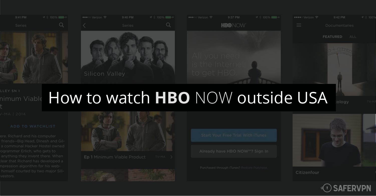How to watch HBO NOW outside USA