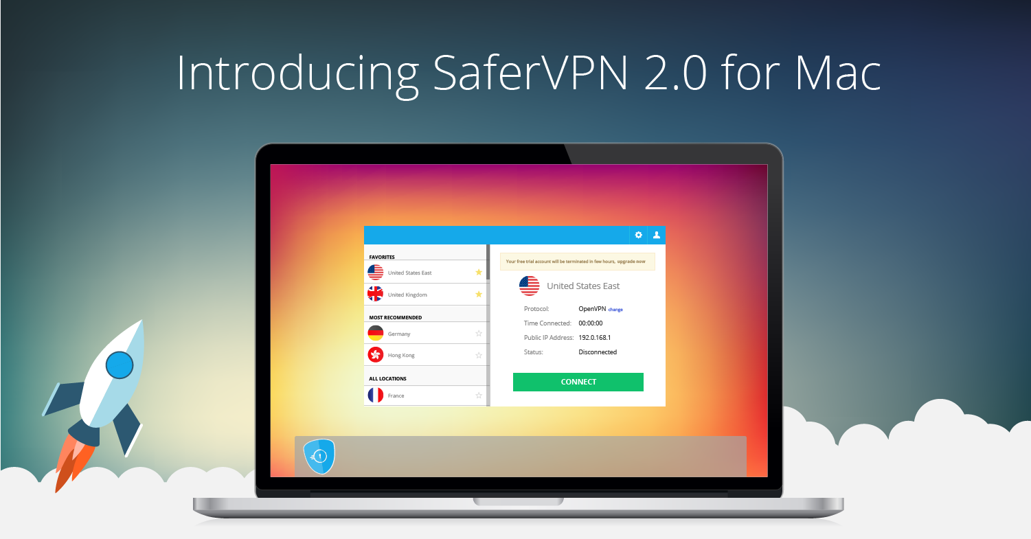 VPN for Mac: Introducing SaferVPN 2.0
