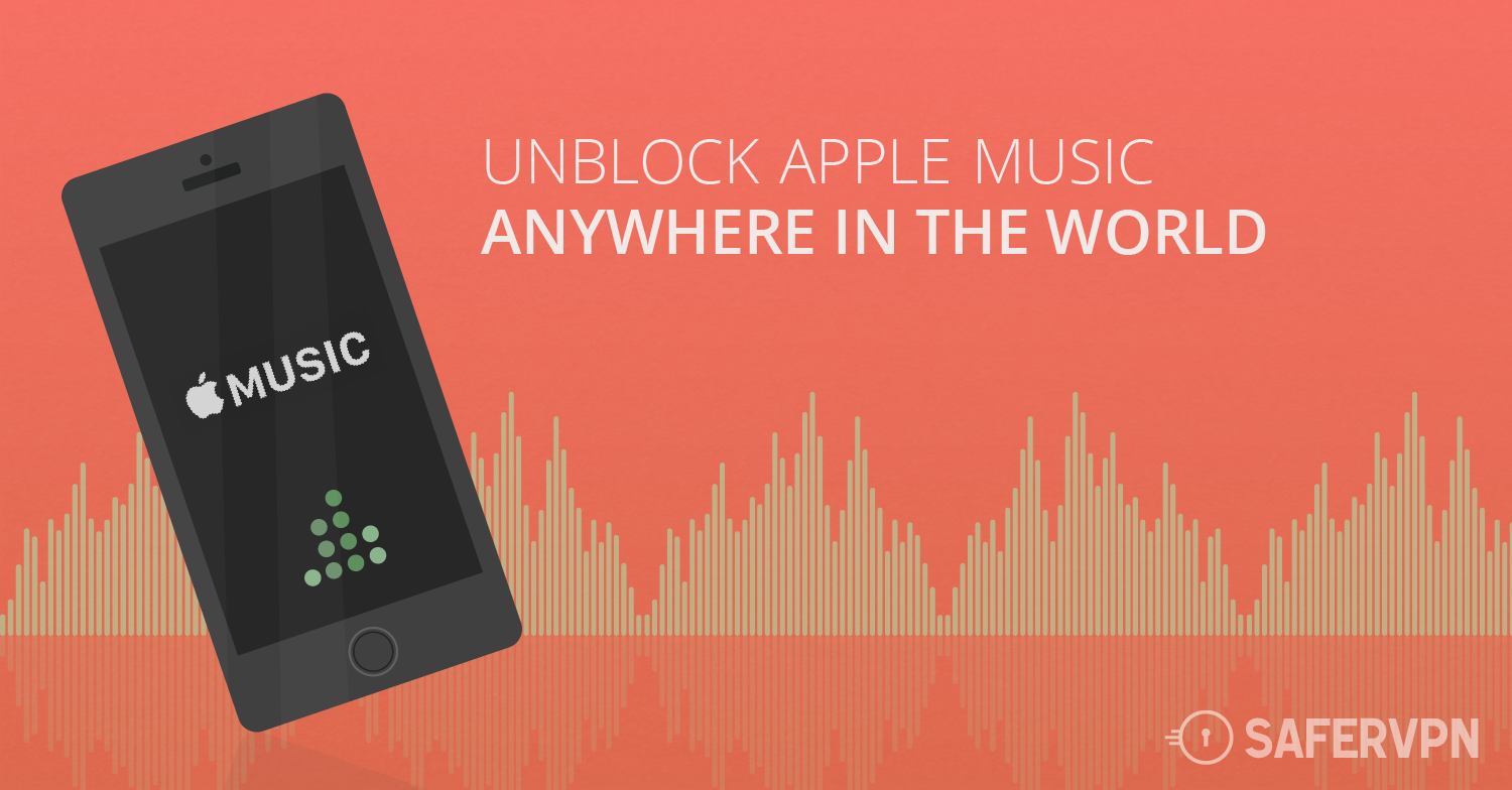 Unblock Apple Music - Access it anywhere abroad