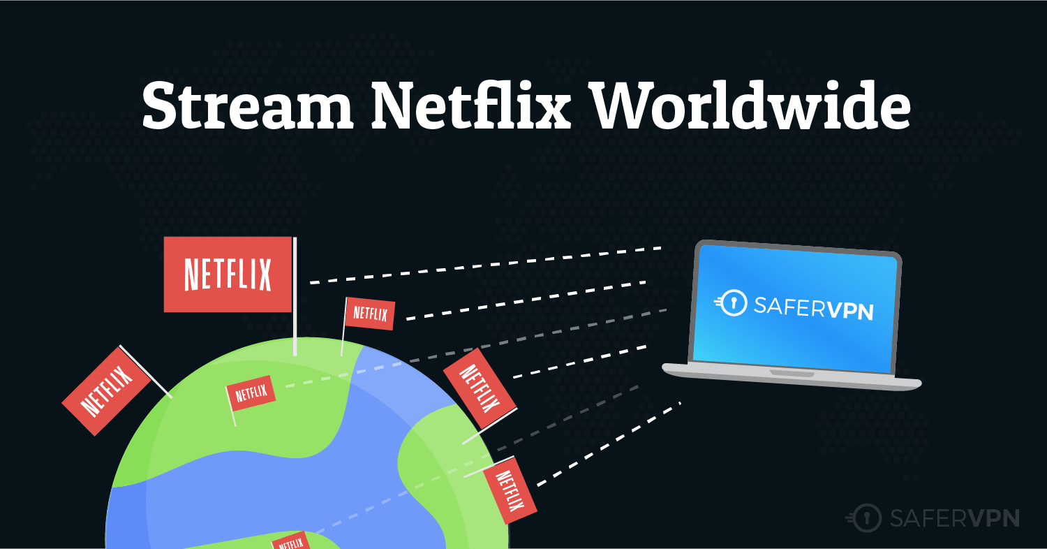 Netflix streaming worldwide SaferVPN