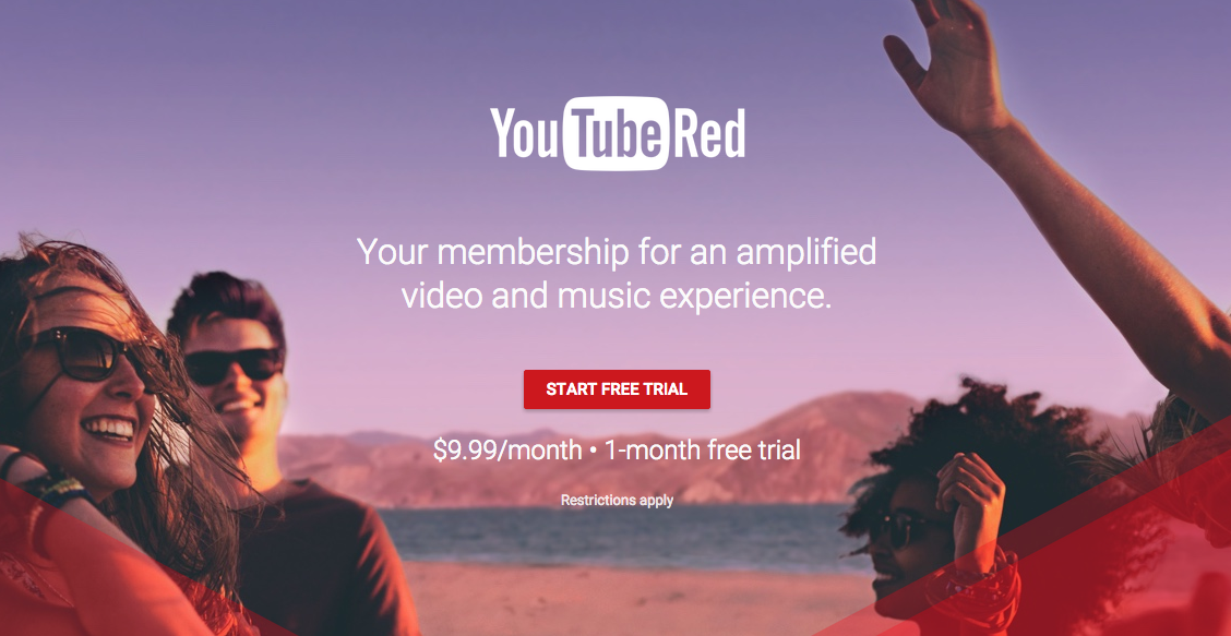 How to Unblock YouTube Red Outside the US New Original Content