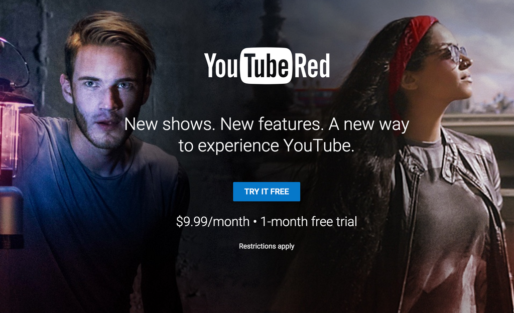 How to Unblock YouTube Red Outside the US- US Screen