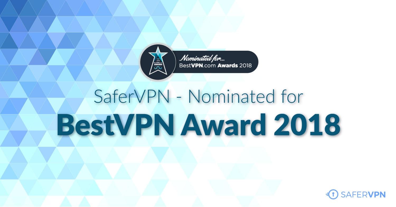 BestVPN award customer service