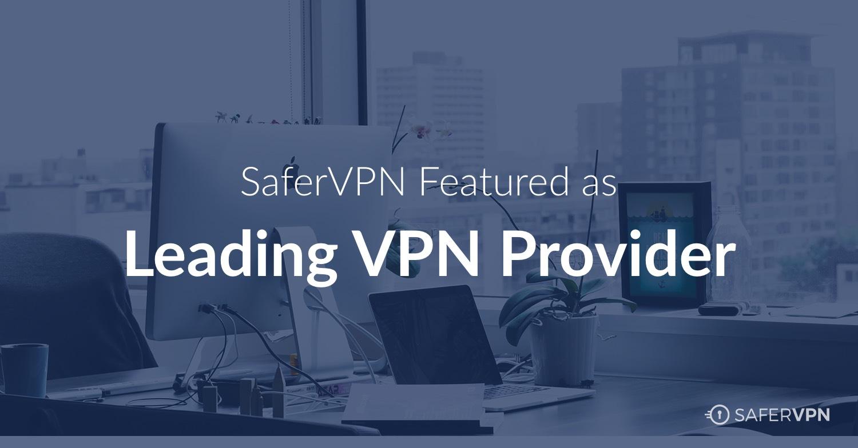 Leading VPN provider