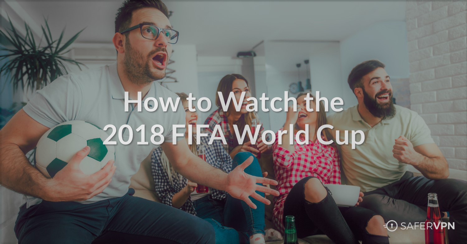 Young Men and Women Watching the 2018 FIFA World Cup at Home
