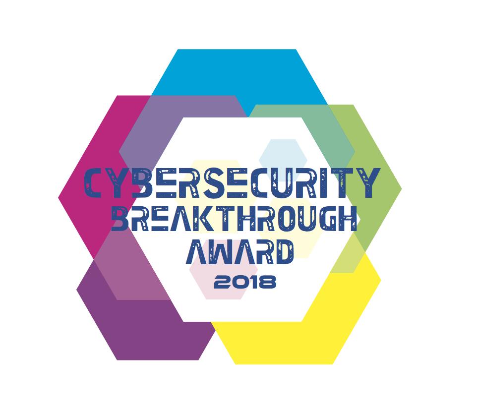 Cybersecurity Breakthrough Award 2018
