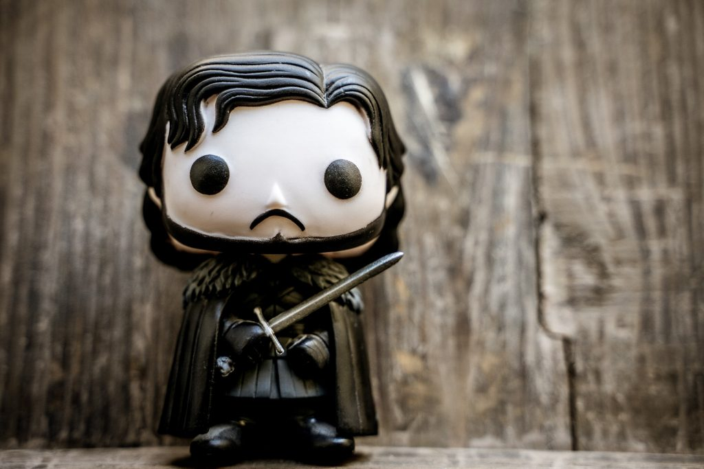 Jon Snow doll