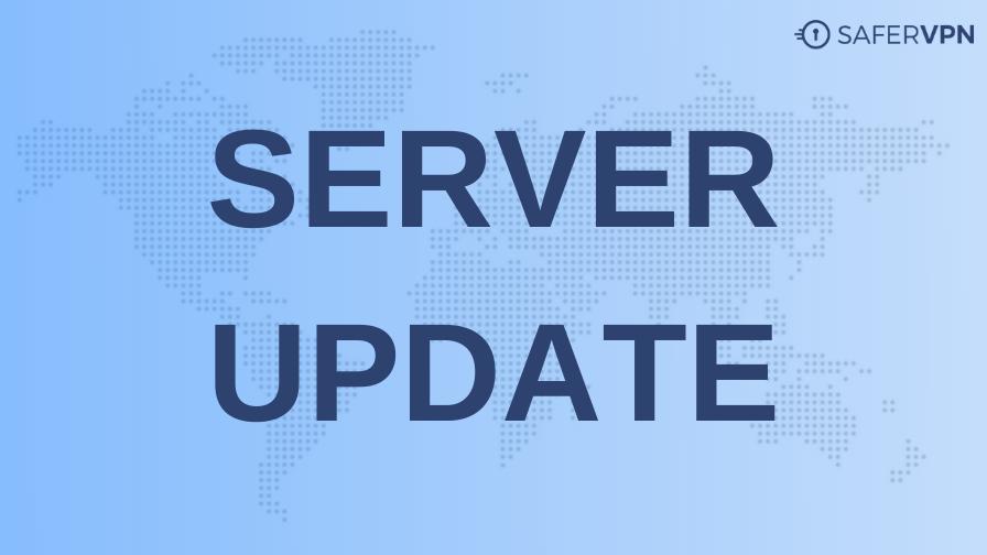 server locations update